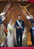 The pair's royal wedding took place in Madrid's Almudena Cathedral.