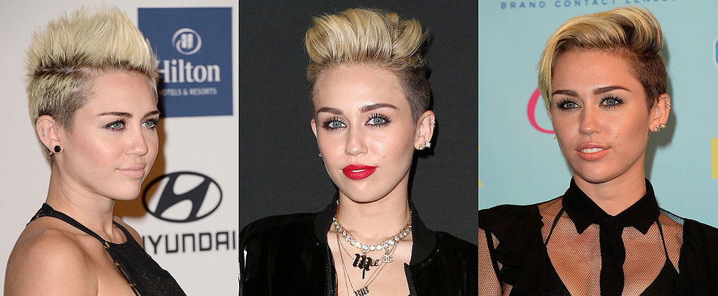 How Many Ways Can Miley Cyrus Style Her Pixie?