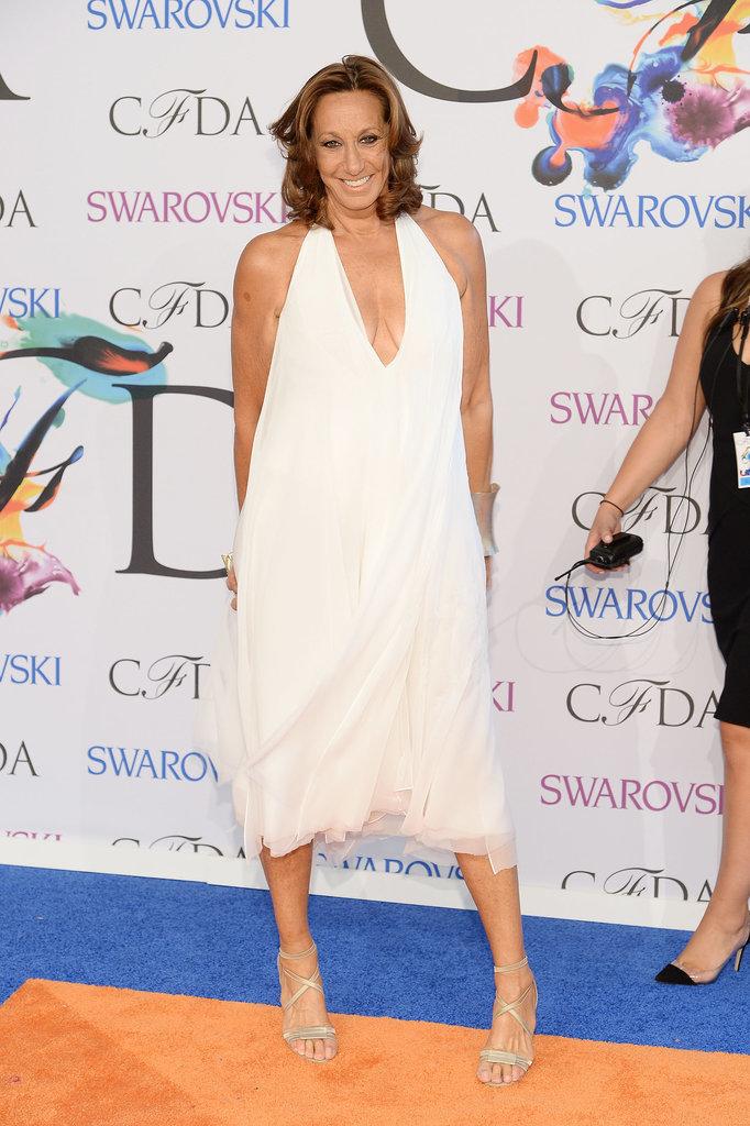 Donna Karan at the 2014 CFDA Awards
