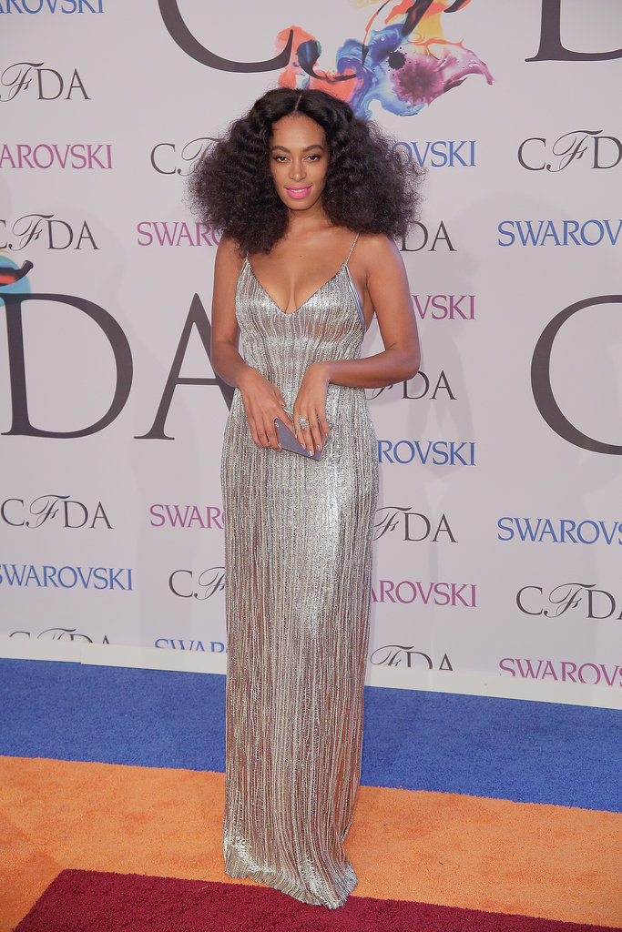 Solange Knowles at the 2014 CFDA Awards