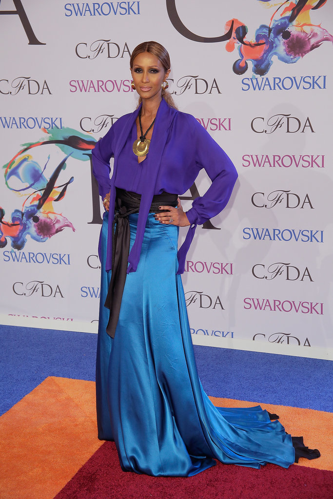 Iman at the 2014 CFDA Awards