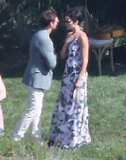 Peter Facinelli and his girlfriend Jaimie Alexander were among the guests.