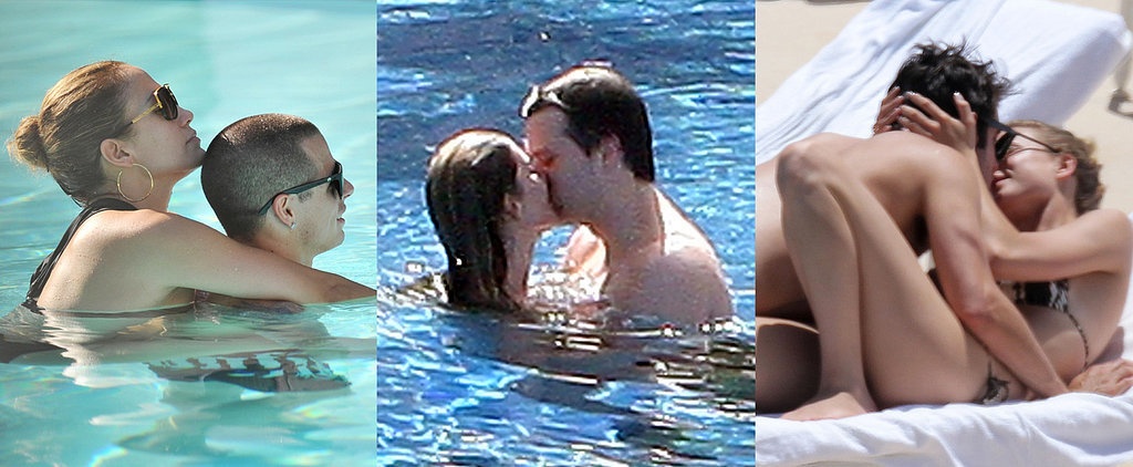Poolside Is the Place to Be For Celebrity PDA
