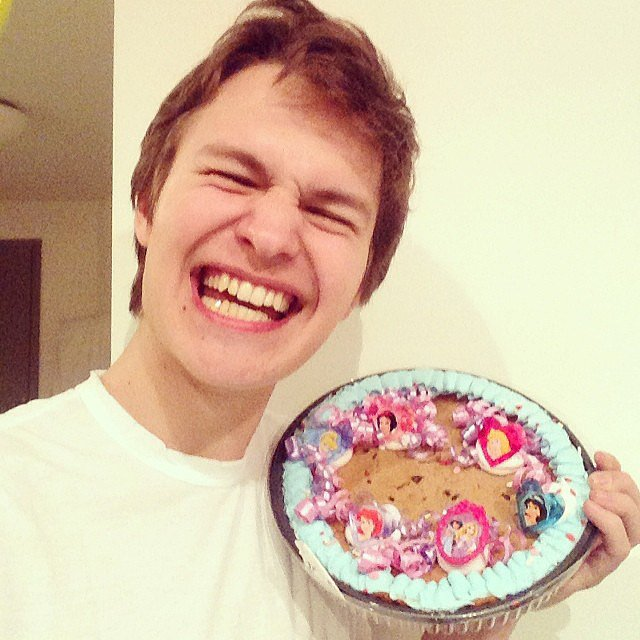 Though he's really into Disney princesses. And cookie cakes.