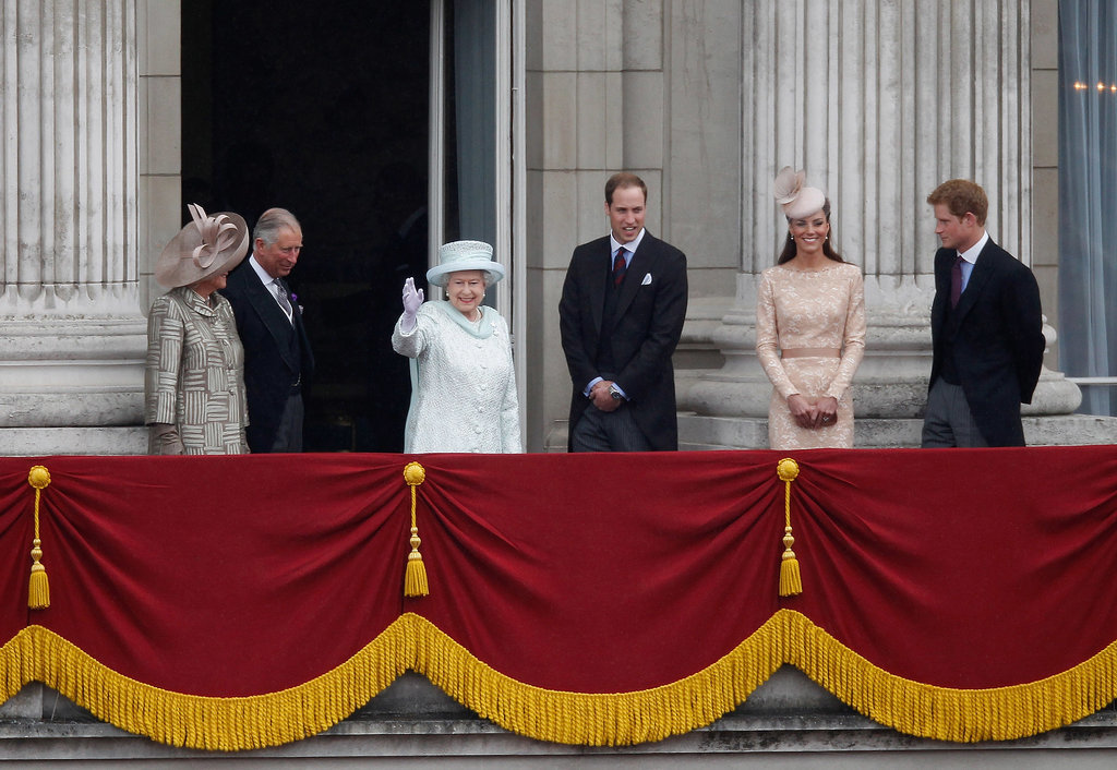 Most: When She Waved From the Balcony of Buckingham Palace