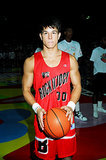 Marky Mark also got involved in lots of MTV Rock N' Jock basketball games.
