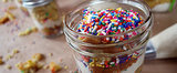 Confetti Cake in a Jar? Yes, and Duff Goldman Shows Us How!