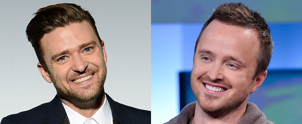 Justin Timberlake and Aaron Paul Are Planning a Dudes-Only Pizza Party