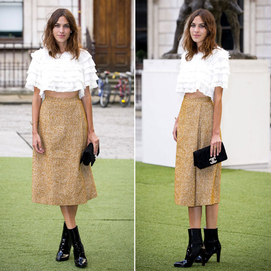 Get the Look Shop Alexa Chung's Style