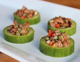 Cucumber Tapenade Cups