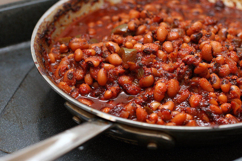 ... -eyed peas is a tasty way to fill up on protein and fiber, sans meat