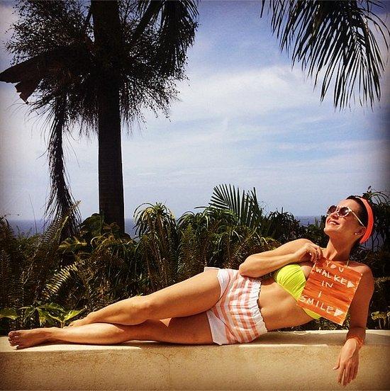 Katy Perry in a Bikini on Instagram