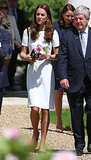 Kate Middleton Can't Help but Smile When She's in Familiar Territory