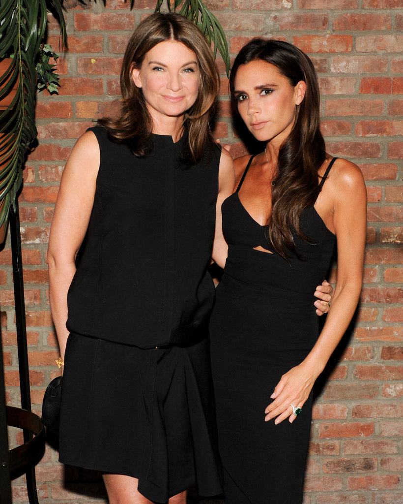 Natalie Massenet and Victoria Beckham