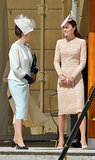 Kate Makes It Back to the Palace in Time For Prince Philip's Birthday Party