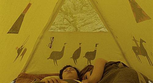 You imagined sleeping in a cool tent.