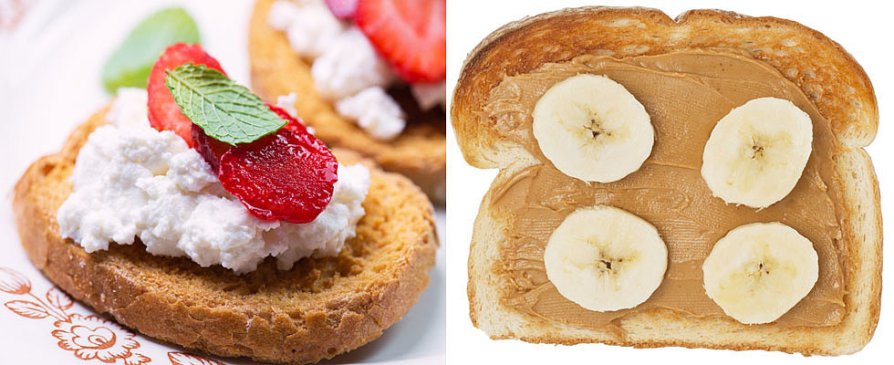 10 Low Calorie Toppings For Your Morning Toast