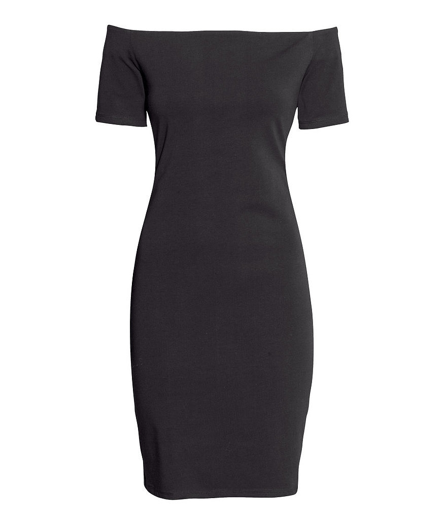 H&M Off-the-Shoulder Body-Con Dress