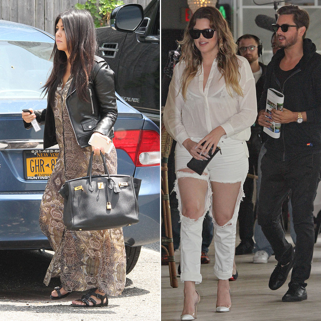 Khloé Kardashian Hangs Out With Scott Disick Amid New Family Strife Rumors