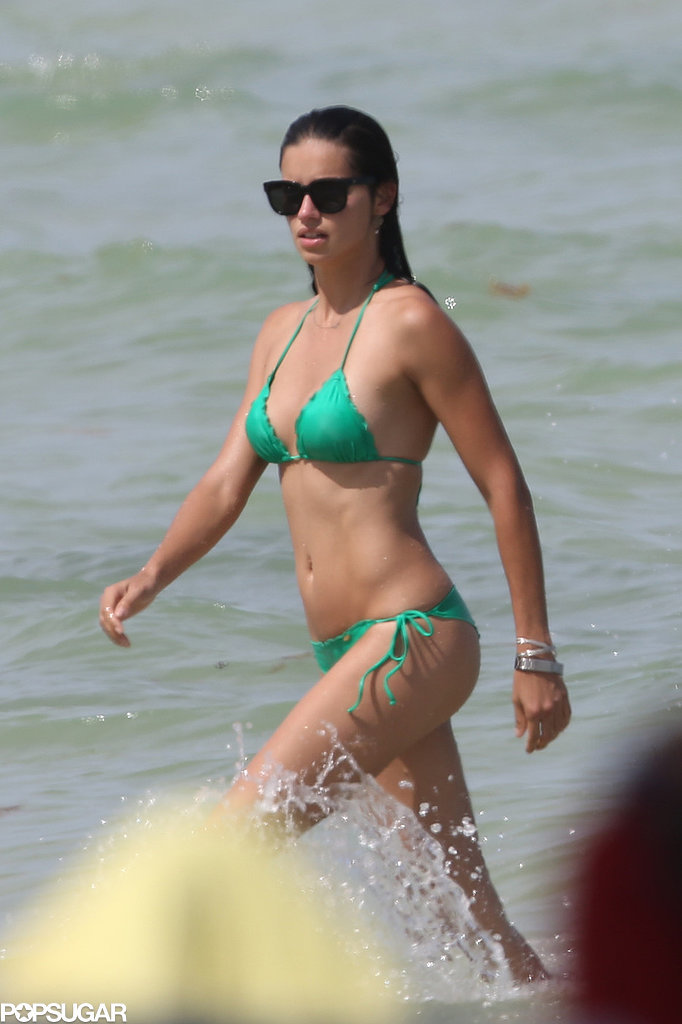 Adriana Lima Proves Her Bikini Body Is Still Off the Charts