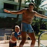 "Spencer Pratt thanked his dad for ""30 years of me pushing you in the water!""  Source: Instagram user spencerpratt"
