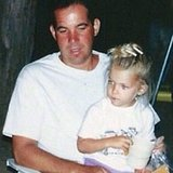 Ashley Benson found a photo of her sitting on her dad's lap.  Source: Instagram user itsashbenzo