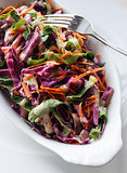 Detox Carrot and Cabbage Salad