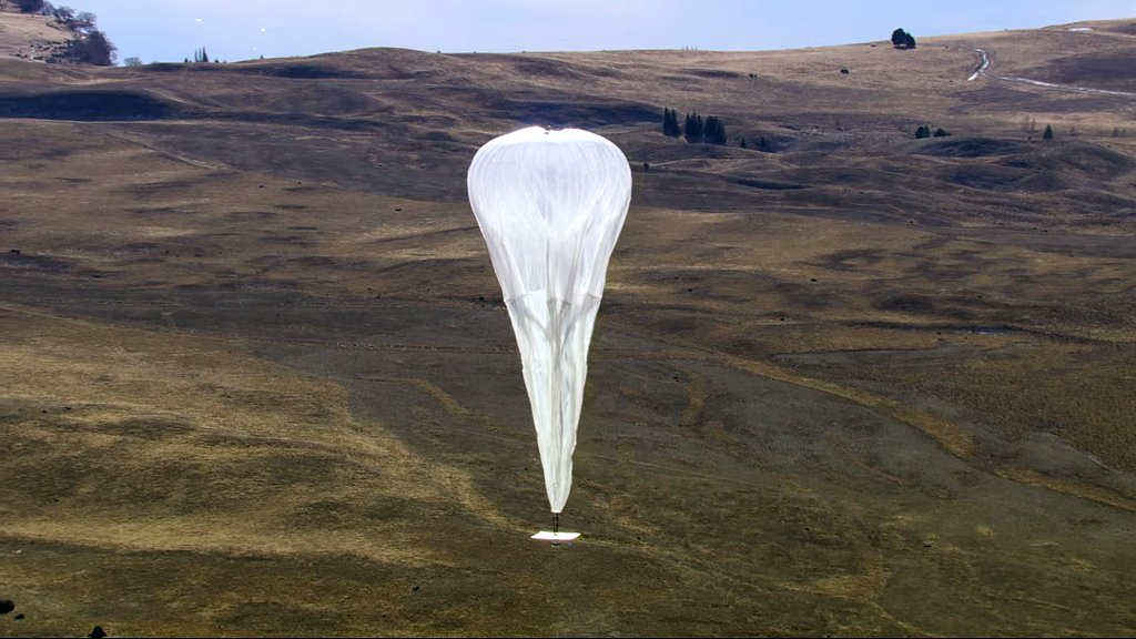 A Balloon-Powered Internet