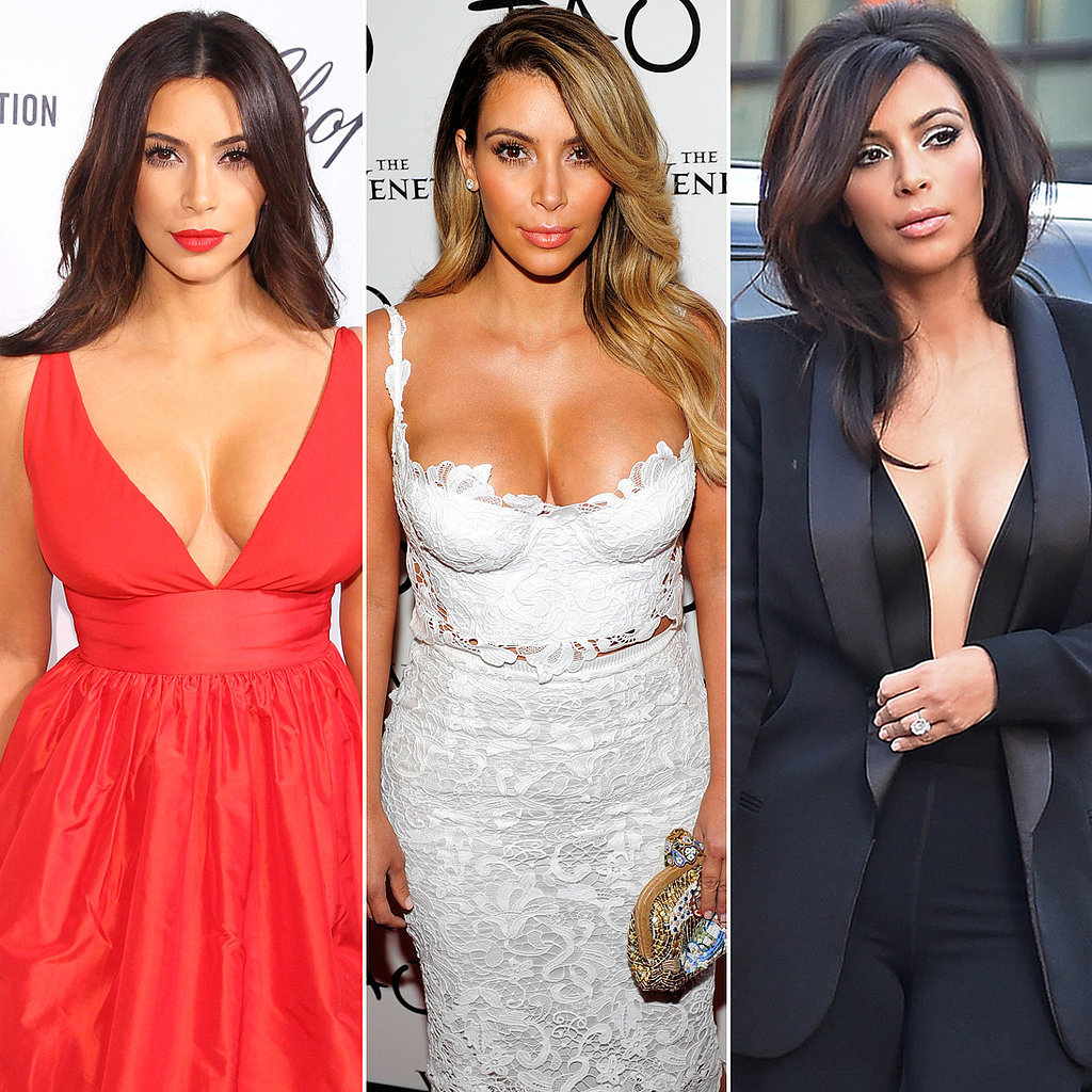 All the Times Kim Kardashian Showed More Cleavage Than You Thought Possible