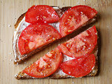What to Make: Tomato-Mayo Sandwich