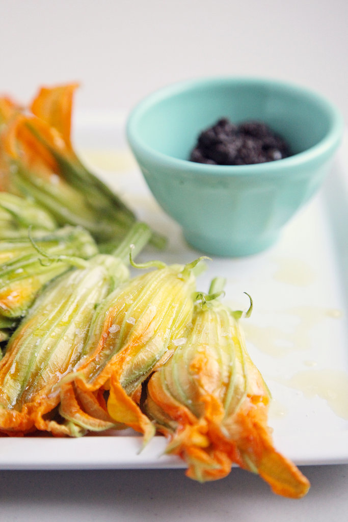 What to Make: Burrata-Stuffed Squash Blossoms