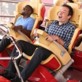 Funny Video of Kevin Hart and Jimmy Fallon on Roller Coaster