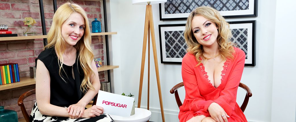 "Liz Gillies Dishes on Having ""Down-to-Earth"" Drew Barrymore as a Boss"