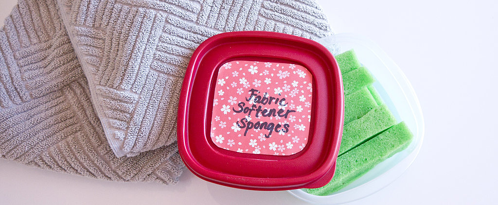 DIY Never-Ending Fabric-Softener Sponges
