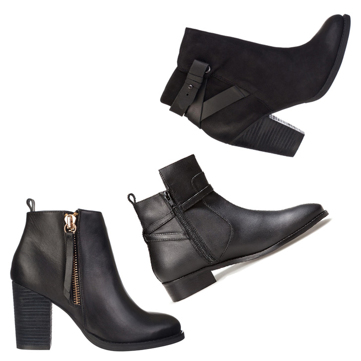 Editor's Picks Leather Ankle Boots Under $300