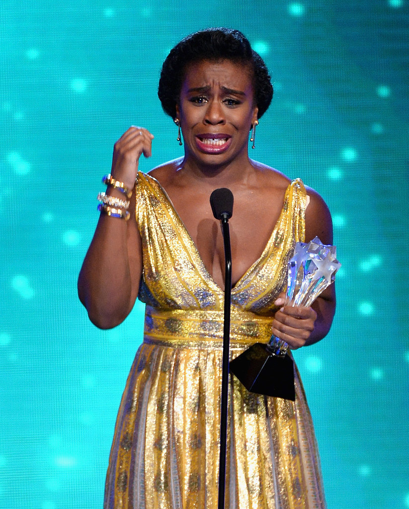 Uzo Aduba took the title for best guest actress in a comedy.