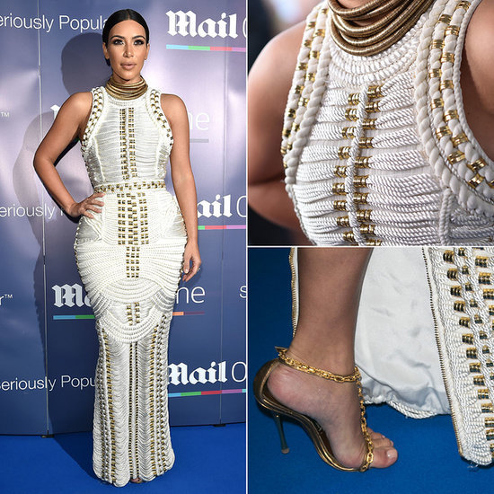 This Is the Perfect Balmain Gown For Kim Kardashian's #YachtLife