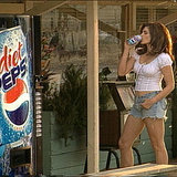 Cindy Crawford Filming a Pepsi Commercial in 2002