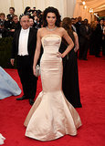 She made her Met Gala debut.