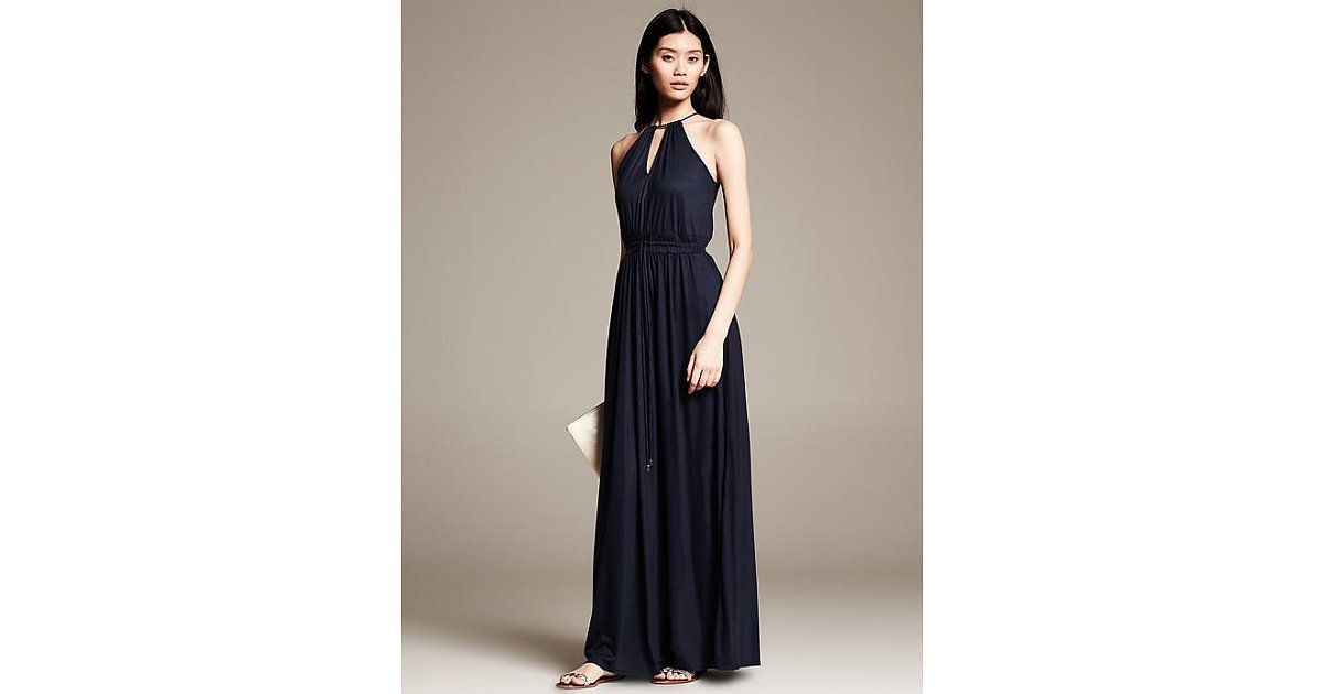 Banana republic knit maxi dress practice makes perfect for Banana republic wedding dresses
