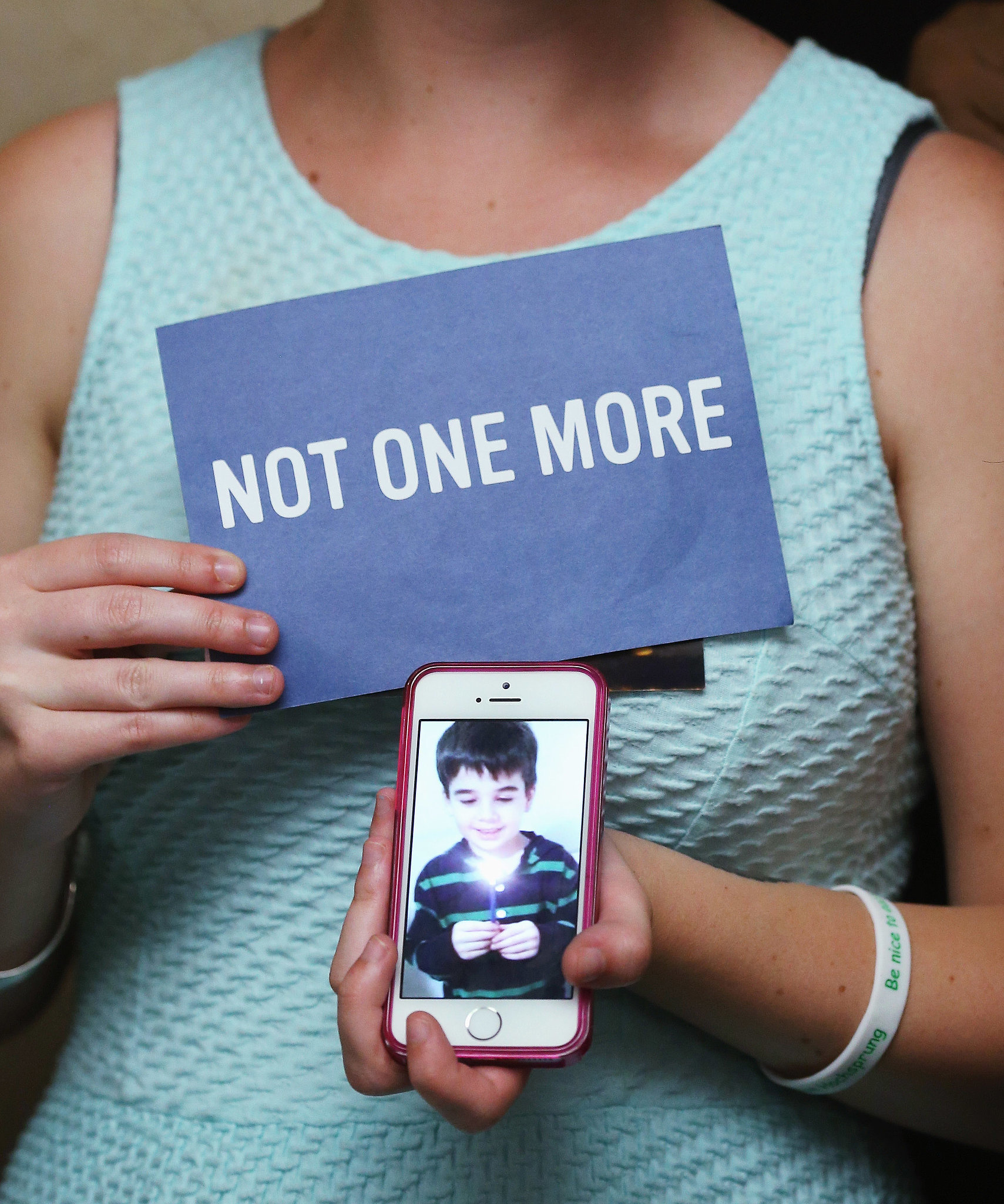 Nine children and teens are shot every day in gun accidents.