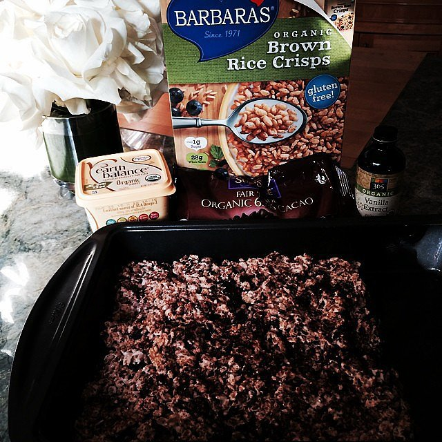 "On Friday night, Rachel Zoe did some ""baking with my boys"" and asked her Instagram followers, ""If it's organic it's healthy right?"" Source: Instagram user rachelzoe"