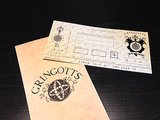 The Gringotts bank notes can be used as real cash in the shops of Diagon Alley.