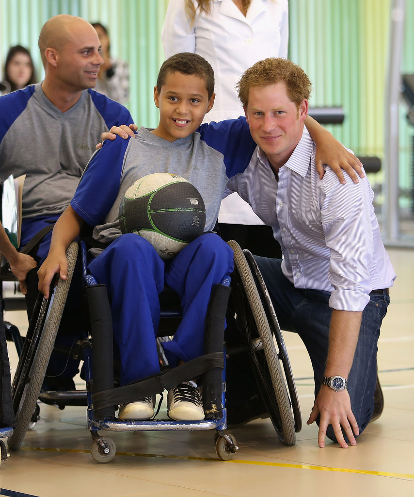 It's Safe to Say Prince Harry's Having a Blast in Brazil