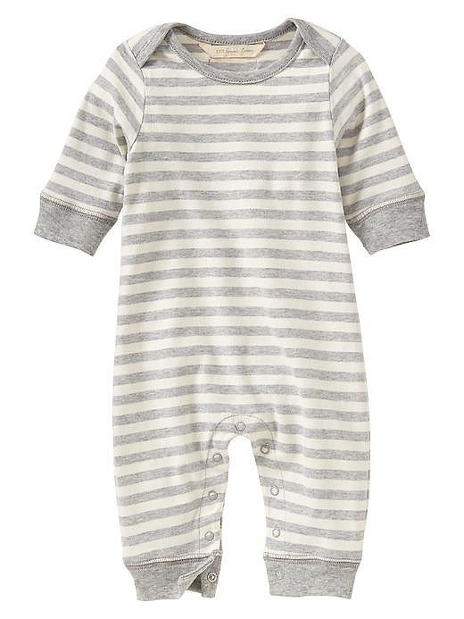Organic Stripe One-Piece