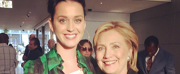 "Speed Read: Katy Perry Wants to Write Hillary Clinton's ""Theme Song"""