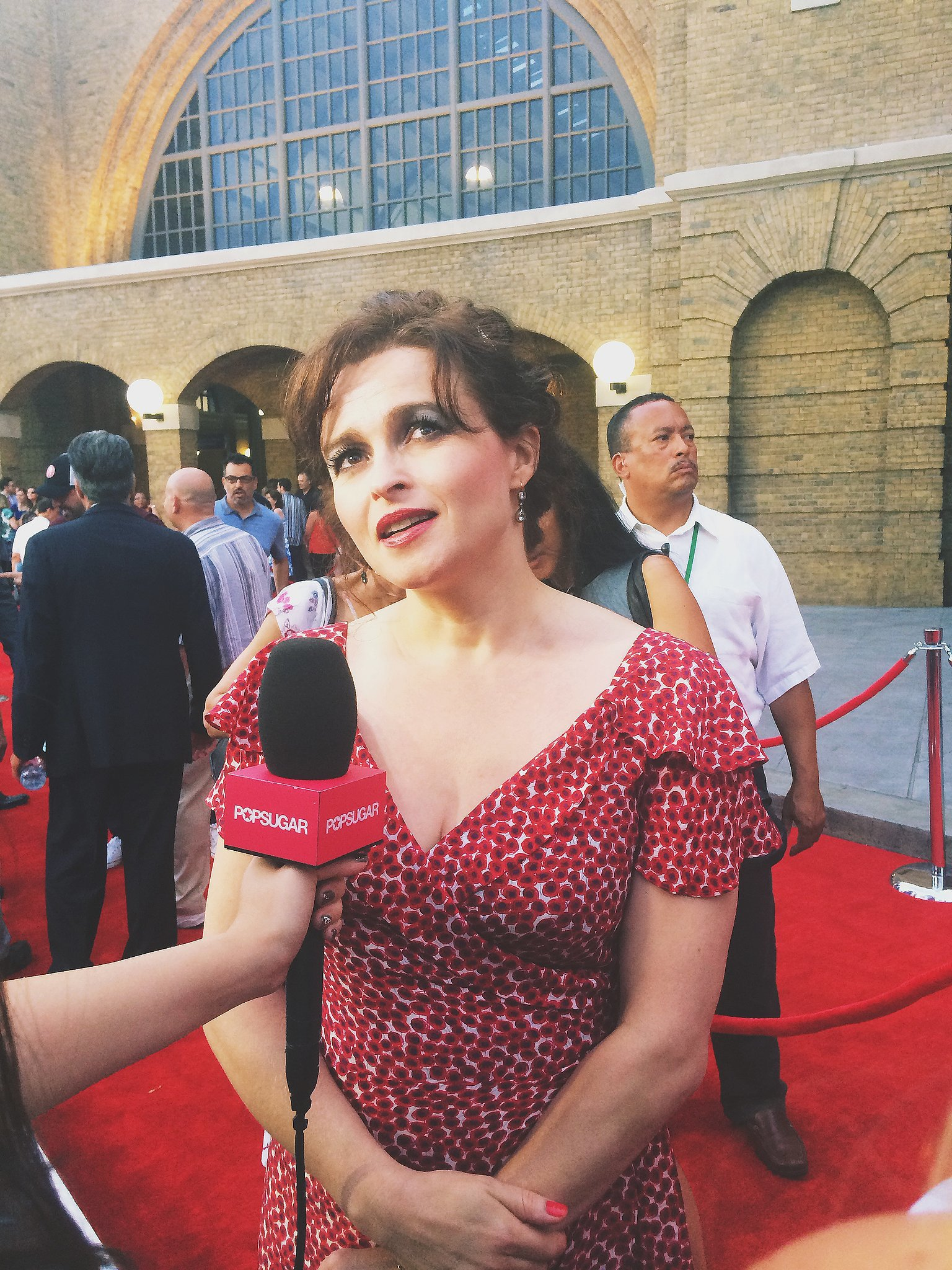 Helena Bonham Carter is a goddess, and she was radiant as always on the red carpet. She is much nicer (thankfully) than her evil onscreen