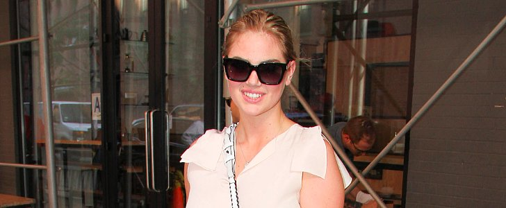 If We Had Kate Upton's Embellished Loafers, We'd Never Take Them Off