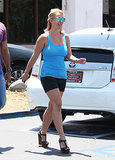Britney Spears ran errands on Wednesday in LA.
