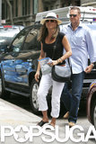 Jennifer Aniston Is All Smiles After Courteney Cox's Big News